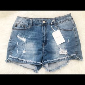 New with tags KANCAn Distressed Shorts W 13/30